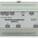 Удаленное устройство KZ-RU-L1. Управление нагрузкой и замер энергопотребления.