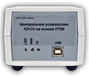 Центральное устройство KZ-CU-L3. Управление нагрузкой по PLC каналу