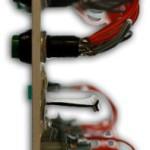 Пульт управления KZ-KB-L2 - вид сбоку