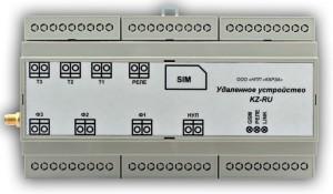 Удаленное устройство KZ-RU-G1. Дистанционное управление и мониторинг нагрузок по GSM