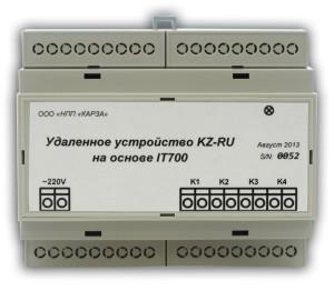 Удаленное устройство KZ-RU-L3. Управление нагрузкой по PLC каналу
